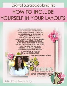 How To Include Yourself In Your Layouts