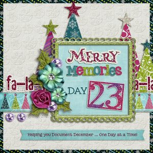 Merry Memories 2014, Day 23