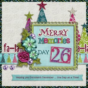 Merry Memories 2014, Day 26