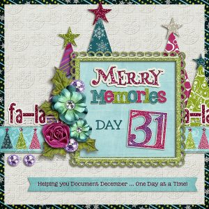 Merry Memories 2014, Day 31
