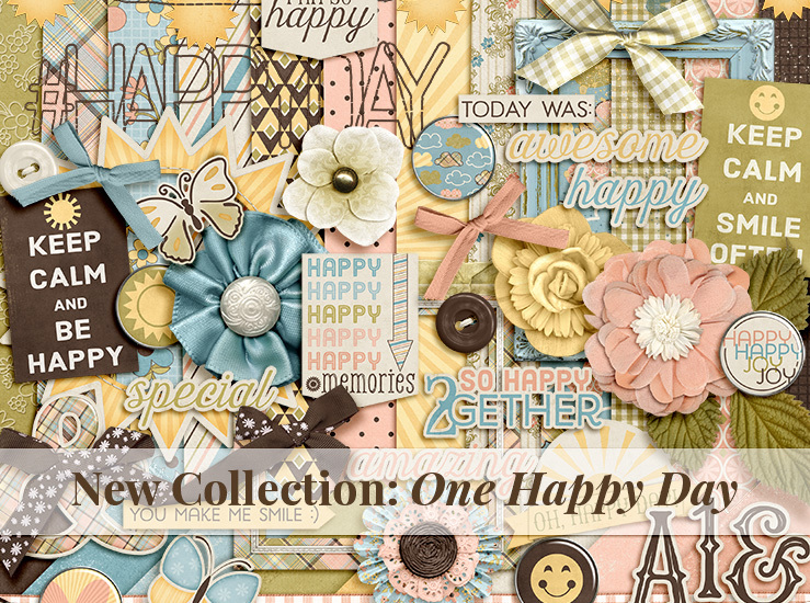Now On Sale! New Collection: One Happy Day