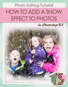 Create a Snow Effect on Your Photos