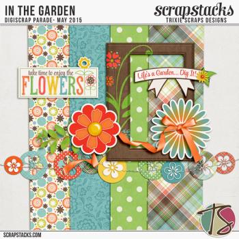 In the Garden by Trixie Scraps Designs