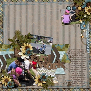 Nature Boy Kit page by Scrap Star Carrin
