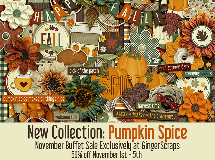 November Buffet Sale – Pumpkin Spice is here!