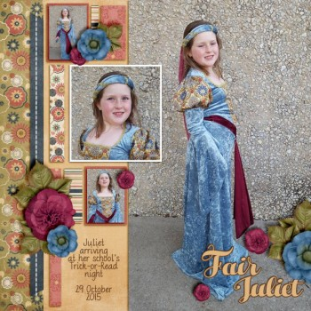 Digital Scrapbook Layout by Stacy