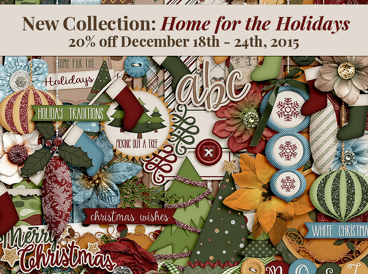 NEW Christmas collection – Home for the Holidays