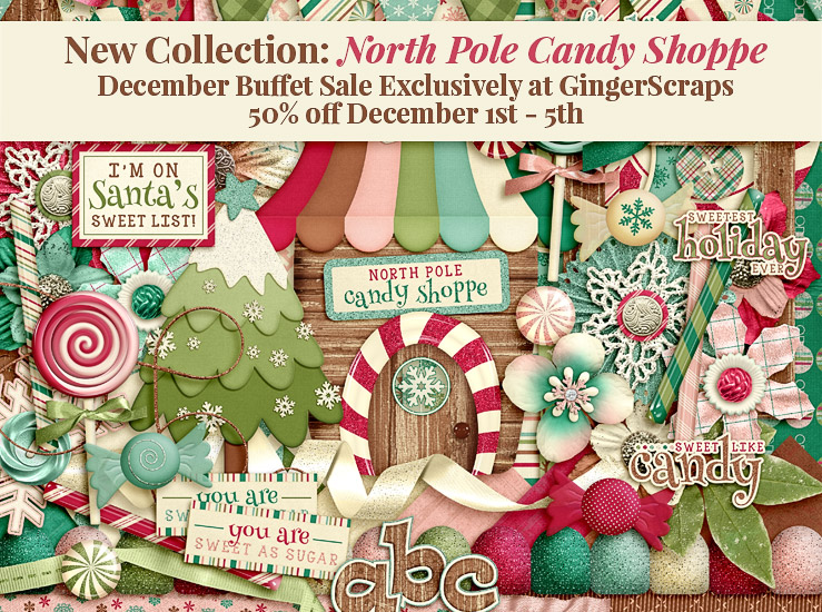 December Buffet Sale – North Pole Candy Shoppe!