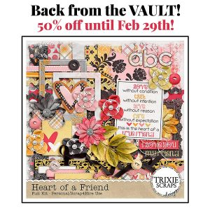 Back from the Vault – Heart of a Friend