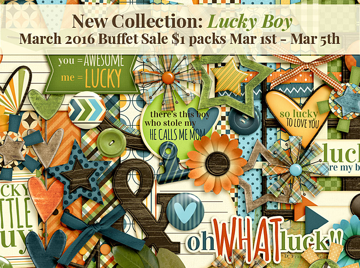 March Buffet Sale – Lucky Boy