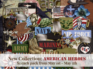 May Buffet Sale – American Heroes