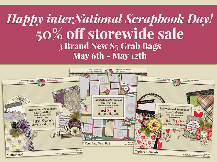Happy interNational Scrapbook Day 2016!