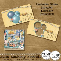June 2016 Desktop Freebie