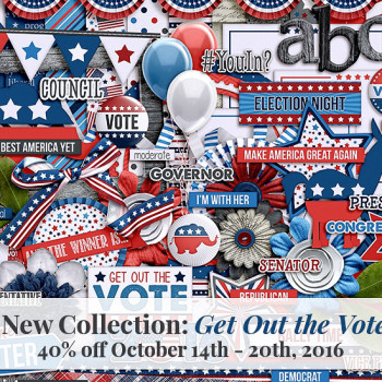 Get Out the Vote Collection by Trixie Scraps Designs