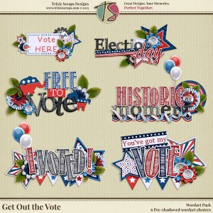 Get Out the Vote Wordart
