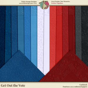 Get Out the Vote Cardstock