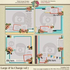 Large & In Charge vol 7 Template Pack