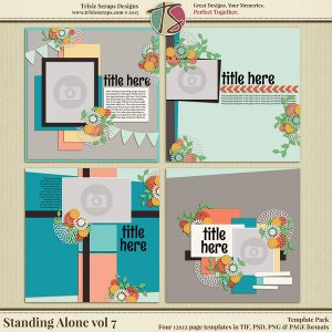 Standing Alone vol 7 Template Pack