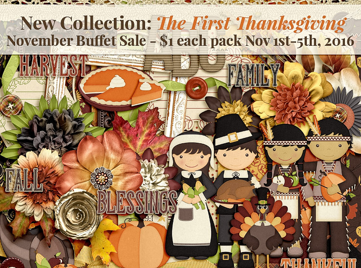 November Buffet Sale – The First Thanksgiving
