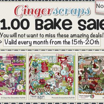 November 2016 Bake Sale – 3 kits, just $1 each!