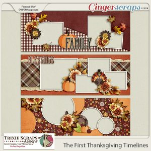 The First Thanksgiving Timelines