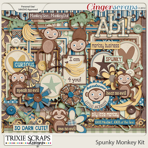 Spunky Monkey Kit