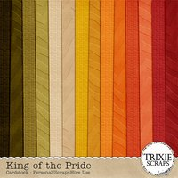 King of the Pride Digital Scrapbooking Cardstock Disney