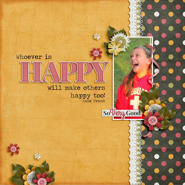 Wisdom Wednesday - Whoever is Happy