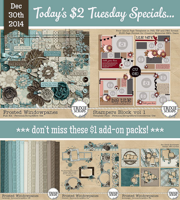 Frosted Windowpanes and Stampers Block