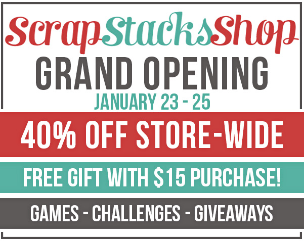 Scrap Stacks Grand Opening