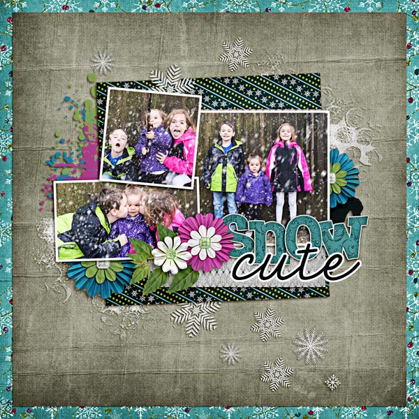 layout by Carrin using 31 Days Has December by Trixie Scraps and Auld Lang Syne collab by North Meets South Studios