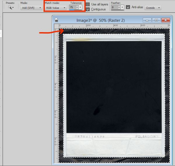 Polaroid Tutorial Image 4