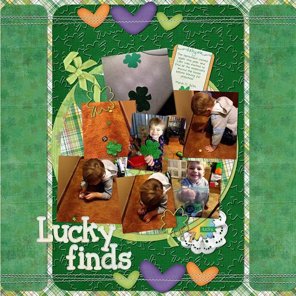 Lucky Finds By Scrap Star Jennifer
