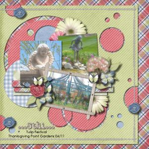 Digital Scrapbooking Layout by Shilo