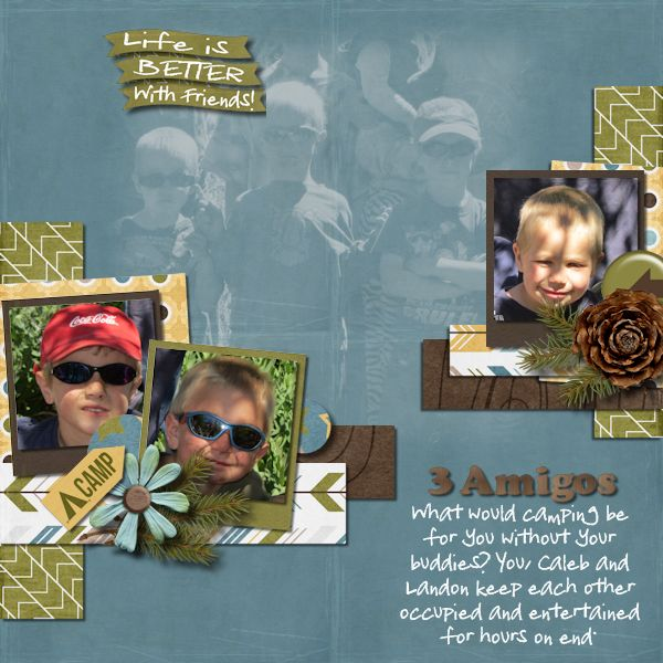 Digital Scrapbook Layout by Shilo