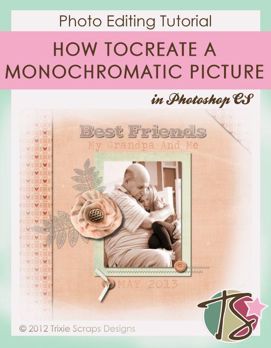 Pinterest Image Monochromatic Photo
