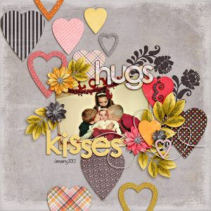 Heart of a Friend Layout by Carrin