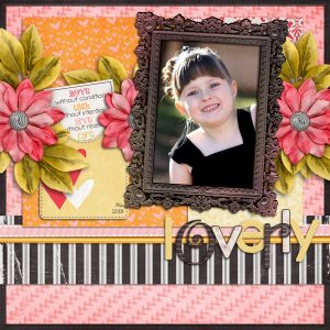 Heart of a Friend Layout by Stacy
