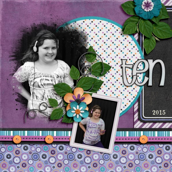 March 2016 Recipe Challenge Layout by Stacy