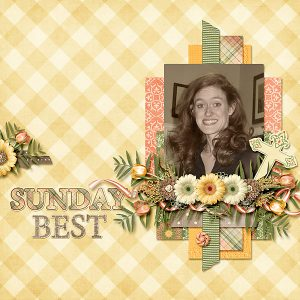 Day of Grace Layout by Shauna