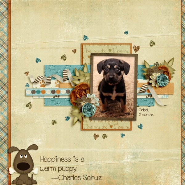 Layout by Stacy using Rescue Me