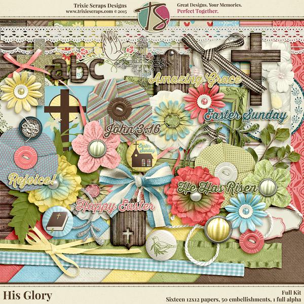 His Glory Faith-Based Easter Kit