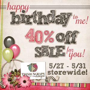 40th Birthday Sale