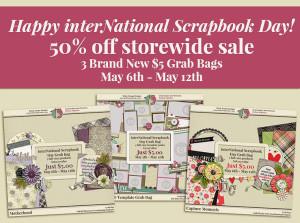 interNational Scrapbook Day 2016