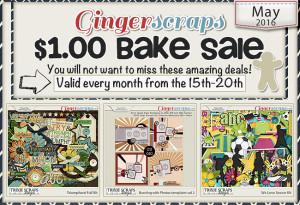 May 2016 Bake Sale