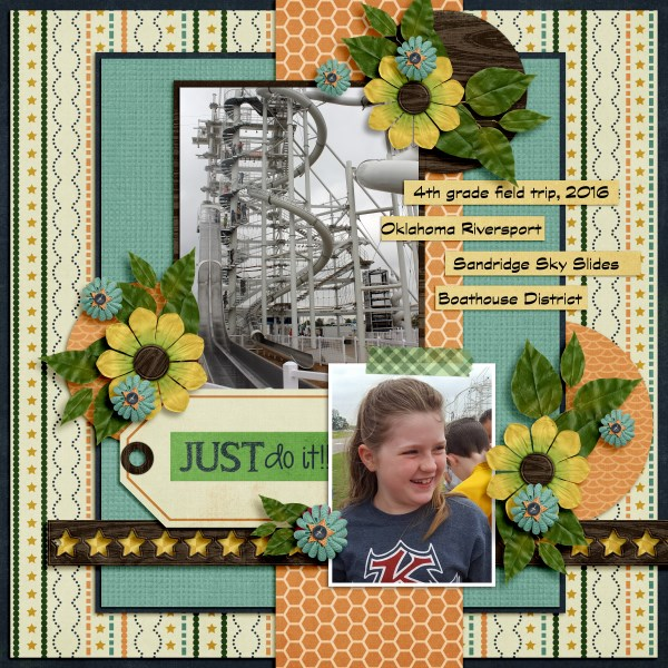 Challenge Layout by Stacy