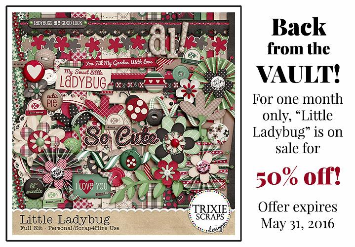 Little Ladybug May 2016 Vault Sale