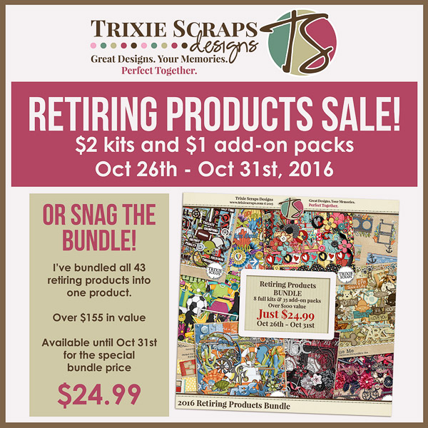 Retiring Products Sale