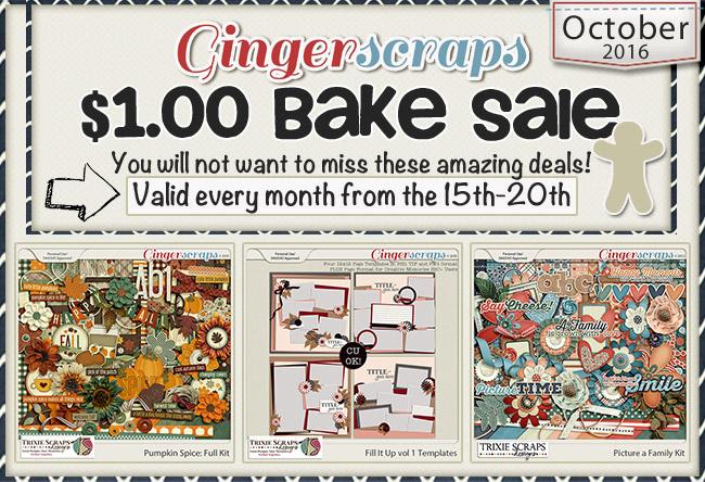 October 2016 Bake Sale