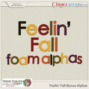 Feelin' Fall Bonus Alphas